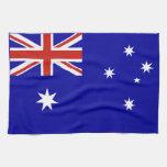 Bandera australiana toallas de mano