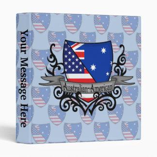 """Bandera Australiano-Americana del escudo Carpeta 1"""""""