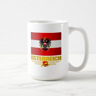 Bandera austríaca 2 taza