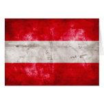 Bandera austríaca felicitaciones