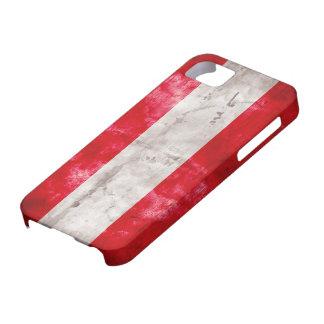 Bandera austríaca iPhone 5 funda