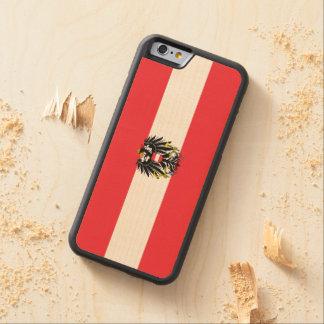 Bandera austríaca funda de iPhone 6 bumper arce