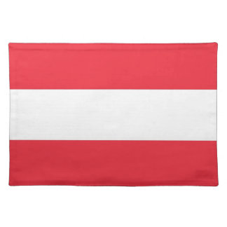 Bandera austríaca MoJo Placemat Manteles