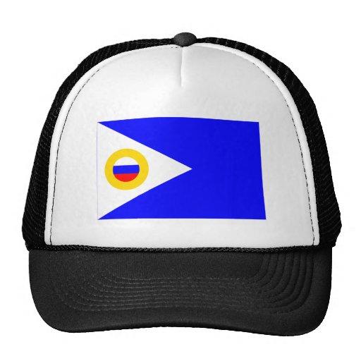 Bandera autónoma de Chukotka Okrug Gorros