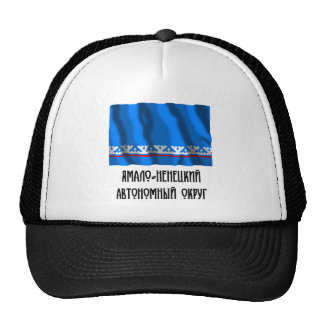 Bandera autónoma de Yamalo-Nenets Okrug Gorra