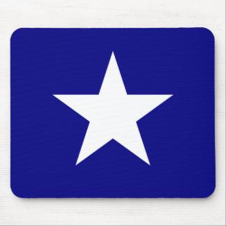 Bandera azul de Bonnie con el cojín de ratón Alfombrillas De Ratones