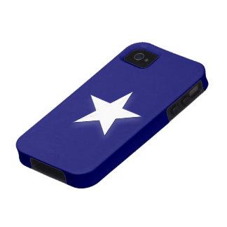 Bandera azul de Bonnie Case-Mate iPhone 4 Funda