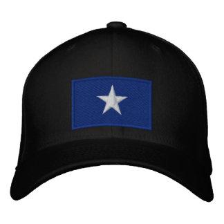 Bandera azul de Bonnie Gorro Bordado