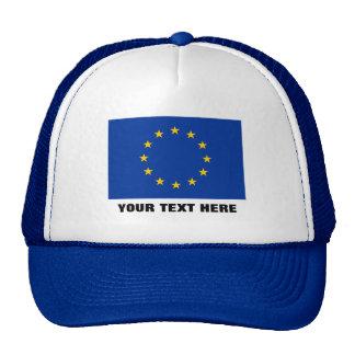 Bandera azul europea del Europa de la UE Europa de Gorro