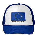 Bandera azul europea del Europa de la UE Europa Gorra
