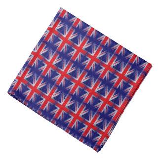 bandera azul roja de Inglaterra Reino Unido Bandanas