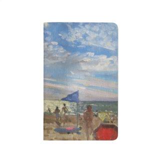 Bandera azul y sombra roja Montalivet del sol Cuadernos Grapados