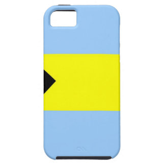 Bandera bahamesa iPhone 5 carcasa