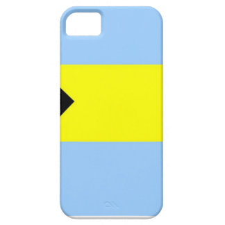 Bandera bahamesa iPhone 5 Case-Mate protector