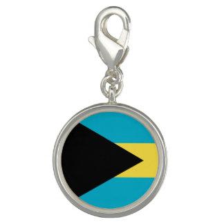 Bandera bahamesa dije