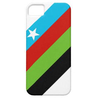 Bandera bantú somalí del movimiento de la iPhone 5 carcasa