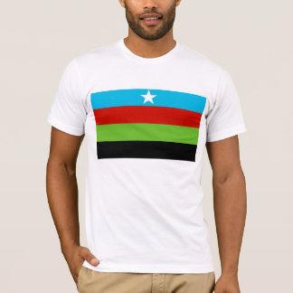 Bandera bantú somalí del movimiento de la playera