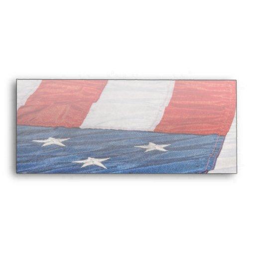 - Bandera - barras y estrellas americana Sobres