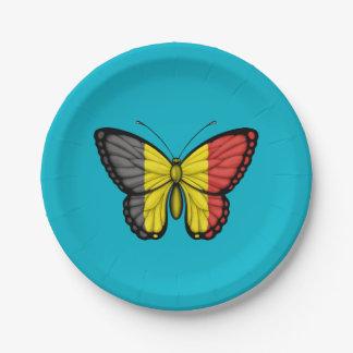 Bandera belga de la mariposa