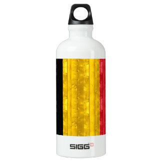 Bandera belga de madera