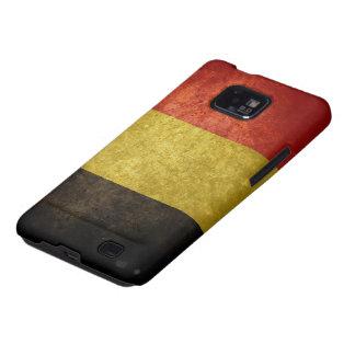 Bandera belga samsung galaxy s2 carcasas