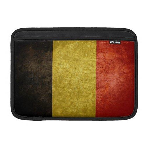 Bandera belga funda para macbook air