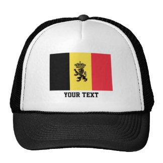 Bandera belga gorra