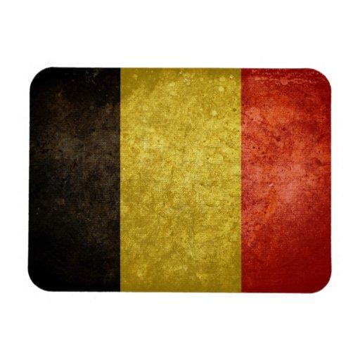 Bandera belga imanes rectangulares
