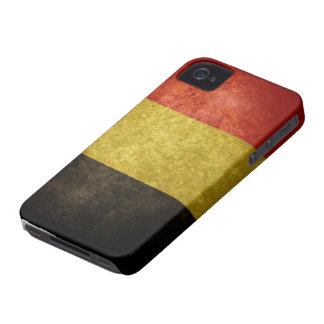Bandera belga iPhone 4 Case-Mate protectores