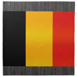 Bandera belga pelada moderna servilleta