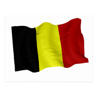 Bandera belga postales