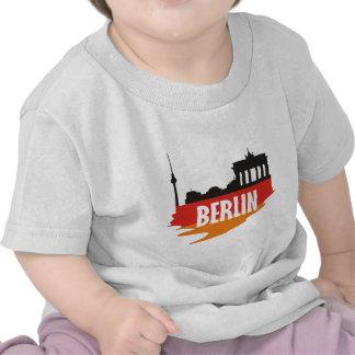 Bandera Berlín Camisetas