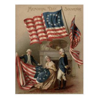 Bandera Betsy Ross George Washington de los E E U