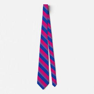 Bandera bisexual corbatas personalizadas