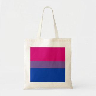 Bandera bisexual del orgullo bolsa de mano