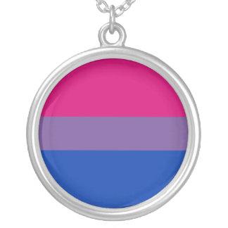 Bandera bisexual del orgullo pendiente personalizado