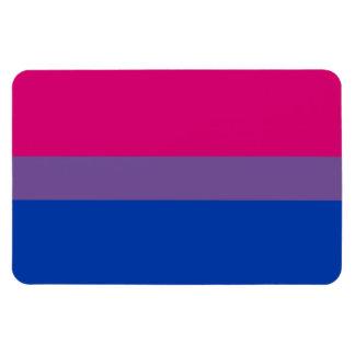 Bandera bisexual del orgullo imanes flexibles