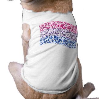 Bandera bisexual del orgullo - .png playera sin mangas para perro