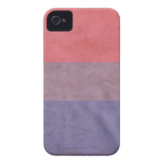 BANDERA BISEXUAL iPhone 4 Case-Mate FUNDAS