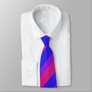 Bandera bisexual v3 del orgullo de Falln Corbatas Personalizadas