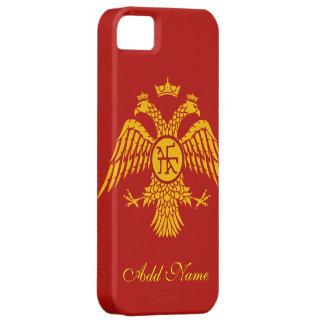 Bandera bizantina iPhone 5 funda