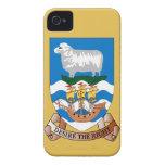 Bandera Blackberry del mar de las ovejas y de la Case-Mate iPhone 4 Cárcasa