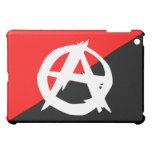 Bandera blanca del anarquista y roja negra