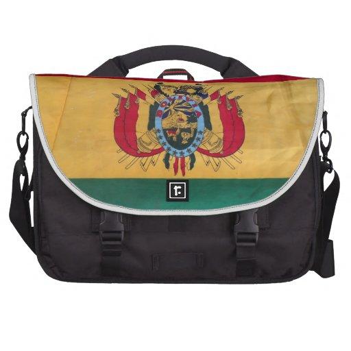 Bandera boliviana bolsas para portátil