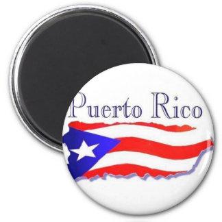 Bandera Boricua de Puerto Rico Imán Para Frigorífico