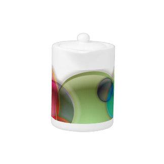 Bandera borrosa de la burbuja de las luces de