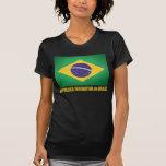 Bandera brasileña camiseta