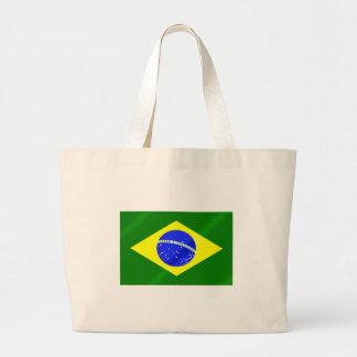 Bandera brasileña de los regalos y de las camiseta bolsas