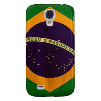 Bandera brasileña funda para galaxy s4