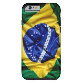 Bandera brasileña funda para iPhone 6 tough